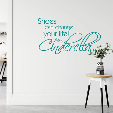 Wandtattoo Shoes can change your life! ...