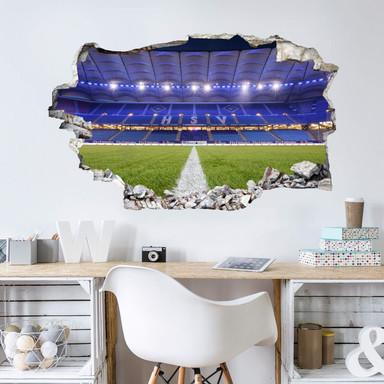 3D Wandtattoo HSV Arena 03