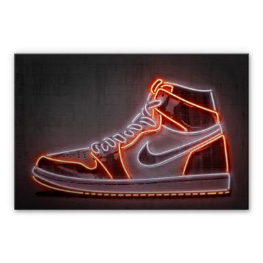 Alu-Dibond-Silbereffekt Mielu - Sneaker