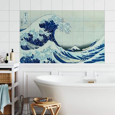 Fliesenaufkleber Hokusai - Die grosse Welle von Kanagawa