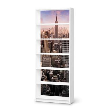 Klebefolie IKEA Billy Regal 6 Fächer - Big Apple- Bild 1