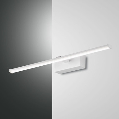LED Badleuchte Nala IP44 in Weiss 105x500mm