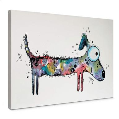 Leinwandbild Hagenmeyer - Happy Dog