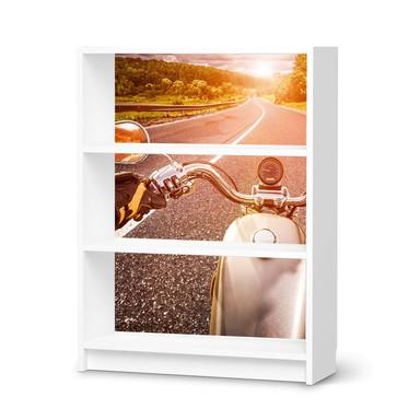 Möbelfolie IKEA Billy Regal 3 Fächer - Easy Rider