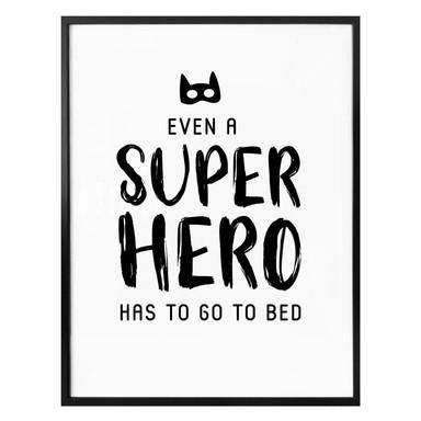 Poster Even a super hero