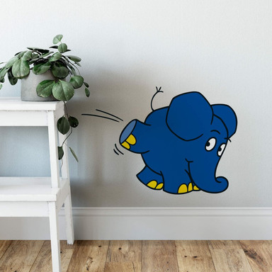 Wandsticker Elefant 06