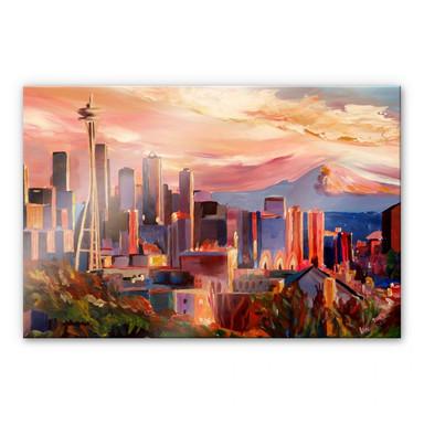 Acrylglasbild Bleichner - Seattle