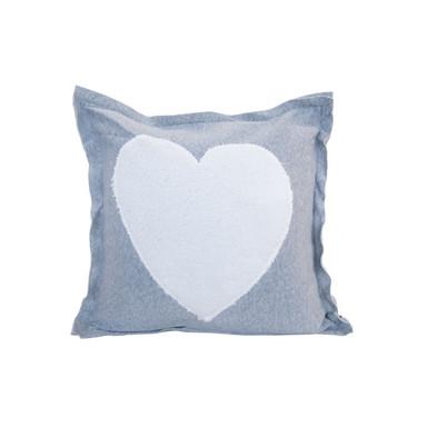 Kissen Herz (grau) - Bild 1