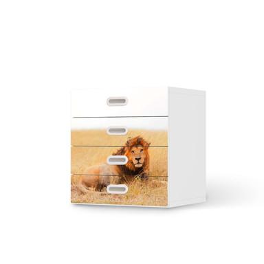 Klebefolie IKEA Stuva / Fritids Kommode - 4 Schubladen - Lion King- Bild 1