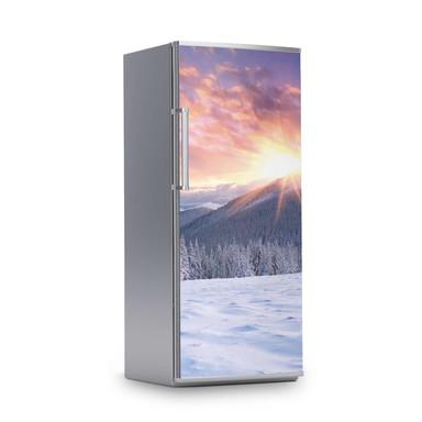 Kühlschrankfolie 60x150cm - Zauberhafte Winterlandschaft- Bild 1