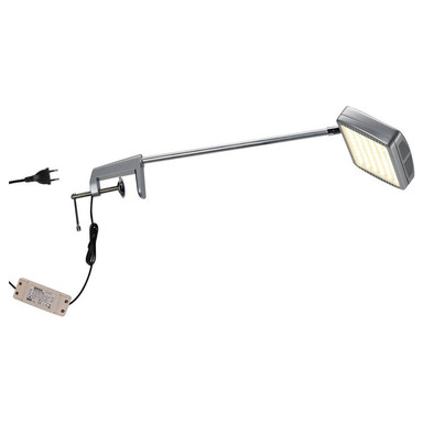LED Displayleuchte in Silber 13W 1150lm 3000K