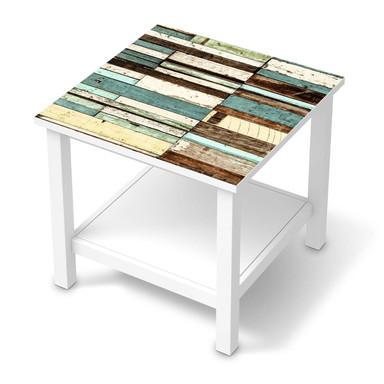 Möbel Klebefolie IKEA Hemnes Tisch 55x55cm - Schiffsbruch- Bild 1