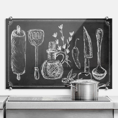 Spritzschutz Rustic Kitchen