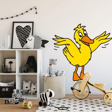 Wandsticker Die Ente 2