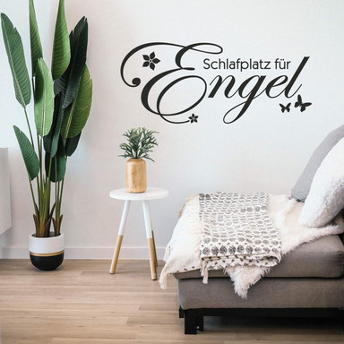 Wandtattoo Schlafplatz für Engel