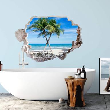 3D Wandtattoo Atlantic Ocean
