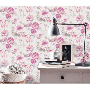 Guido Maria Kretschmer Vliestapete Fashion for Walls rosa