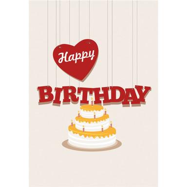 Gutschein Geburtstagstorte