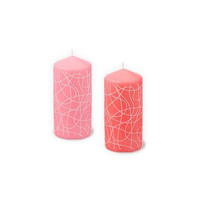 Kerze Imara - pink