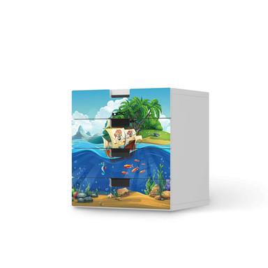 Klebefolie IKEA Stuva / Malad Kommode - 4 Schubladen - Pirates- Bild 1