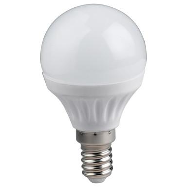 LED Leuchtmittel Tropfen in weiss 6W 470lm