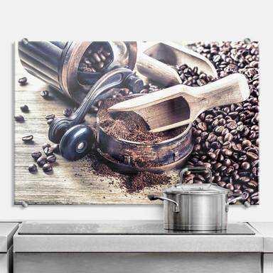 Spritzschutz Kaffeeduft