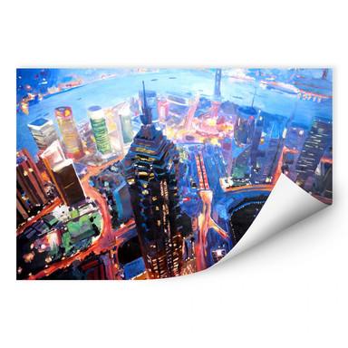 Wallprint Bleichner - Shanghai