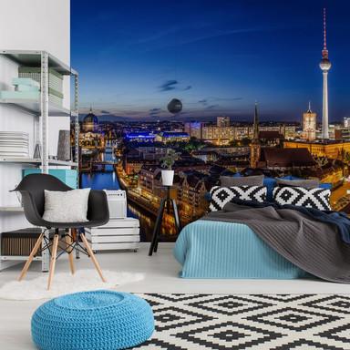 Fototapete Berlin Panorama - 432x260cm - Bild 1