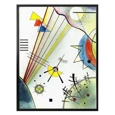 Poster Kandinsky - Deutliche Verbindung