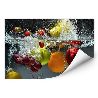 Wallprint Erfrischendes Obst