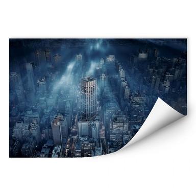 Wallprint Løndal - Nebel in NYC