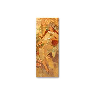 Wandbild Mucha - Jahreszeiten: Der Herbst