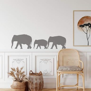 Wandtattoo Elefanten