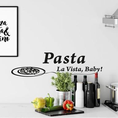 Wandtattoo Pasta la Vista 2