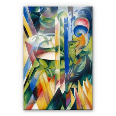 Acrylglasbild Marc - Die kleinen Bergziegen