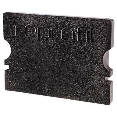 Deko-Light Endkappe P-AU-02-15. 2er-Set, schwarz, 21mm, für Abdeckung: Plan