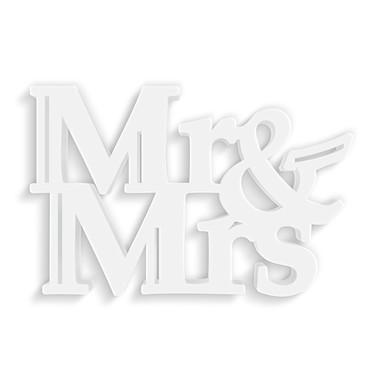 Dekobuchstaben 3D-Anhänger -Mr & Mrs-
