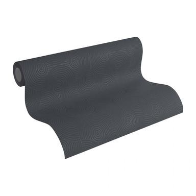 Esprit Home Vliestapete mit Glitter Minimalistic Authenticity metallic, schwarz