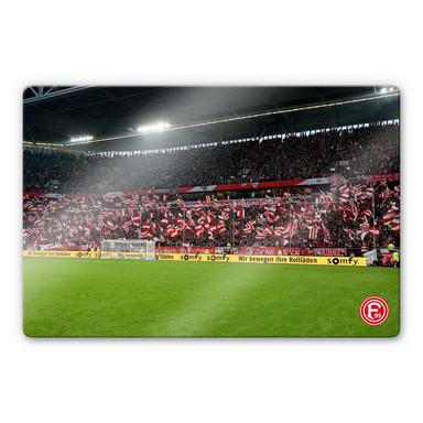 Glasbild Fortuna Fans