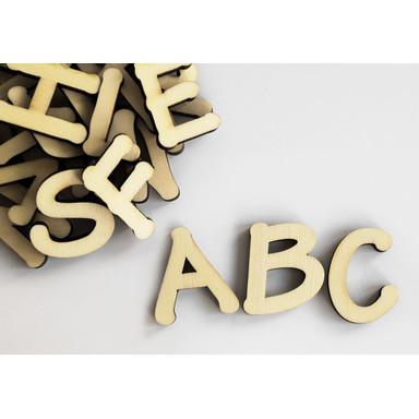 Holzbuchstaben Alphabet - Tekton - 26tlg