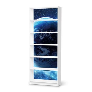 Klebefolie IKEA Billy Regal 6 Fächer - Planet Blue- Bild 1