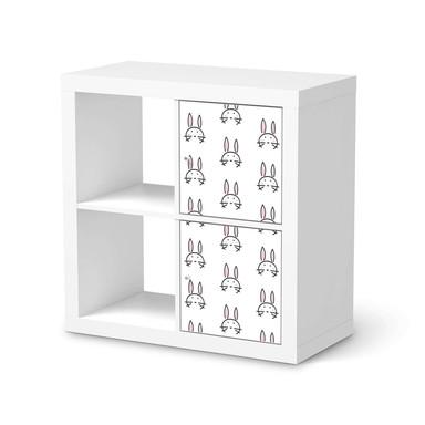 Klebefolie IKEA Expedit Regal 2 Türen (hoch) - Hoppel