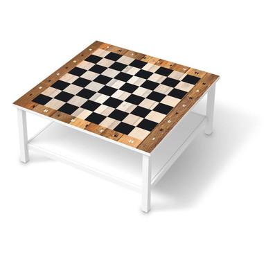 Klebefolie IKEA Hemnes Tisch 90x90cm - Spieltisch Schach