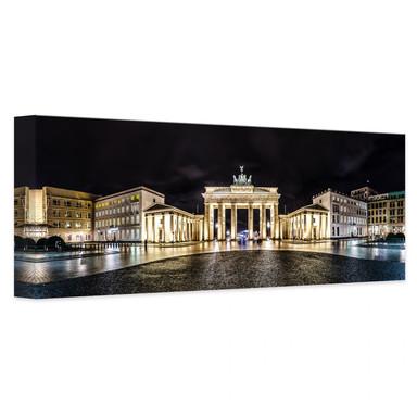 Leinwandbild Brandenburger Tor Panorama