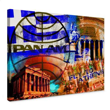Leinwandbild PAN AM - Athen