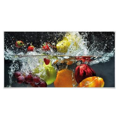 Poster Erfrischendes Obst - Panorama