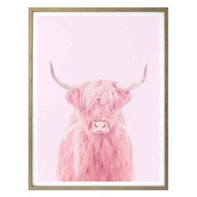 Poster Fuentes - Highland Cow