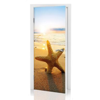Türdeko Seestern im Sand - Bild 1
