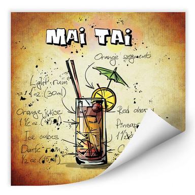 Wallprint Mai Tai - Rezept