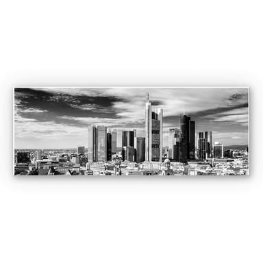 Wandbild Frankfurter Skyline - Panorama
